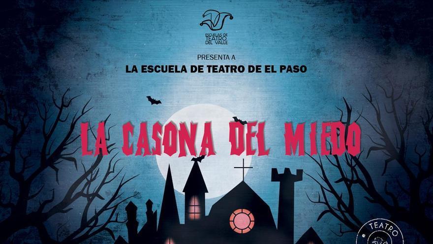 Cartel de las obras que pone en escena la Escuela de Teatro de El Paso.
