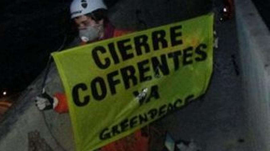 Protestas de Greenpeace. (EUROPA PRESS)