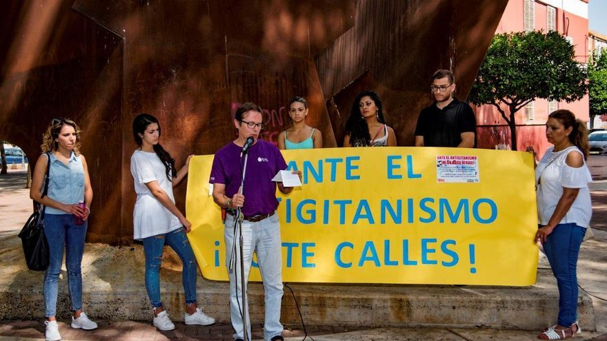 Manifestación en contra del antigitanismo: 'Ante el antigitanismo no te calles'