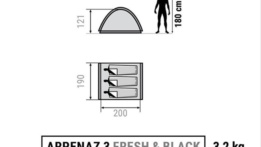 ARPENAZ 3 FRESH&BLACK