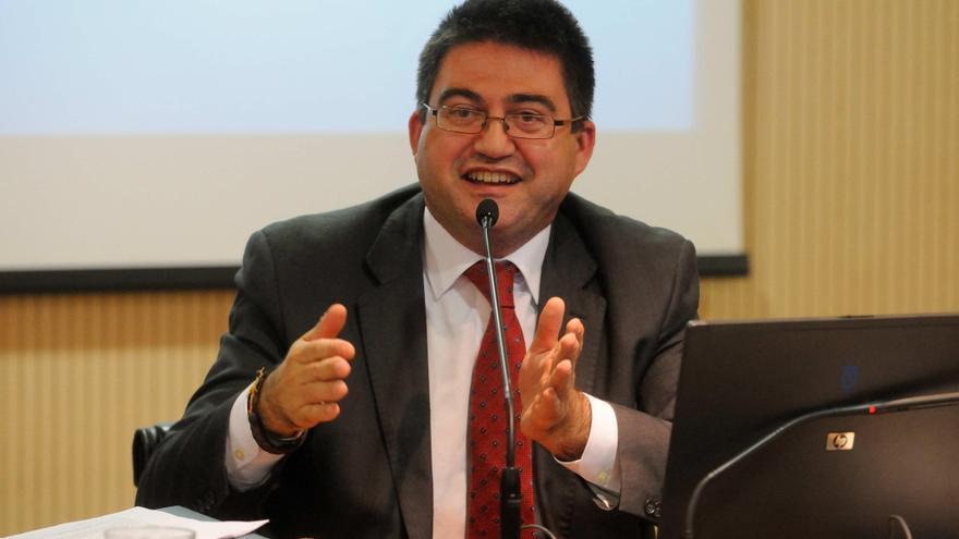 El concejal de Economía y Hacienda del Ayuntamiento de Madrid, Carlos Sánchez Mato, en una rueda de prensa. / Ayuntamiento de Madrid