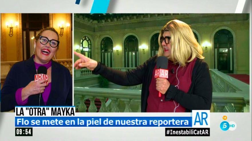 """Mayka Navarro, la última """"víctima"""" de Flo: """"Sabéis que soy así"""""""