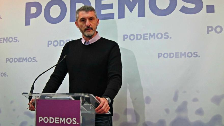 """Podemos Murcia llama a PSOE y Cs a trabajar en la moción de censura: """"el Gobierno está podrido"""""""