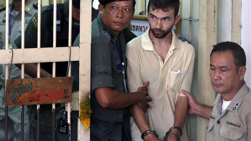 La Policía identifica a un detenido como el autor del atentado en Bangkok