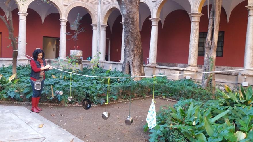 Uno de los talleres del Centre del Carmen