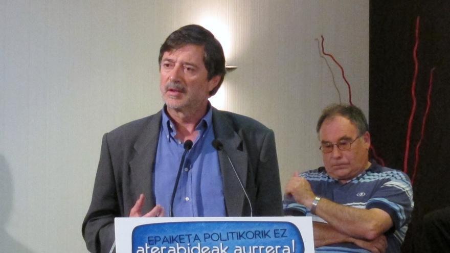 """Díez Usabiaga llama a afianzar a EH Bildu para """"dar velocidad de crucero al tren"""" con el fin de crear Estado vasco"""