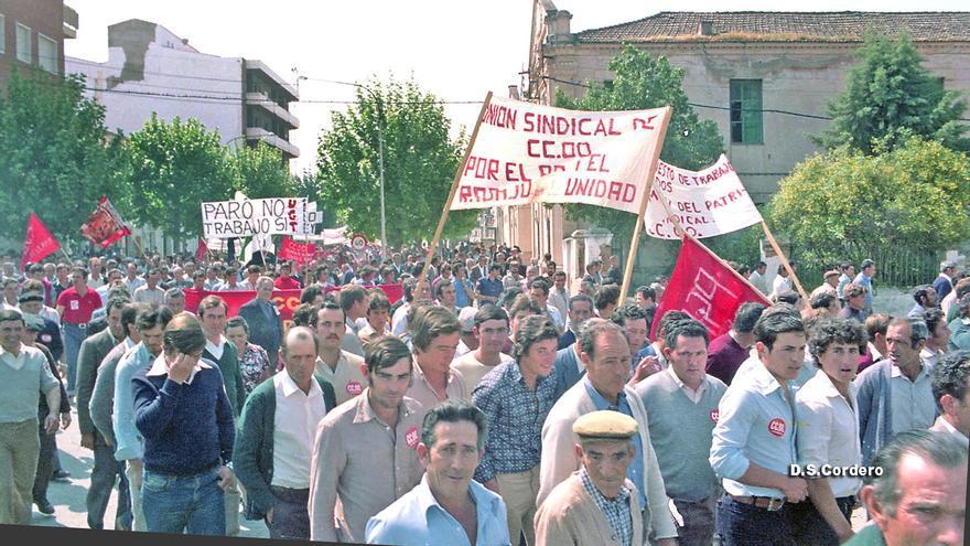 Manifestación Primero de Mayo en Don Benito