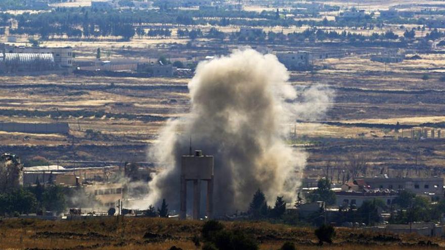 Al menos 13 muertos por una explosión en un almacén de municiones del EI en Siria