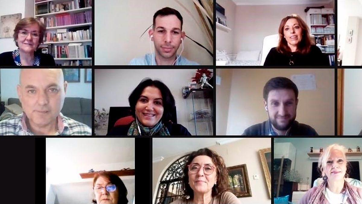 Reunión telemática de la Mesa por la Diversidad Afectivo Sexual.