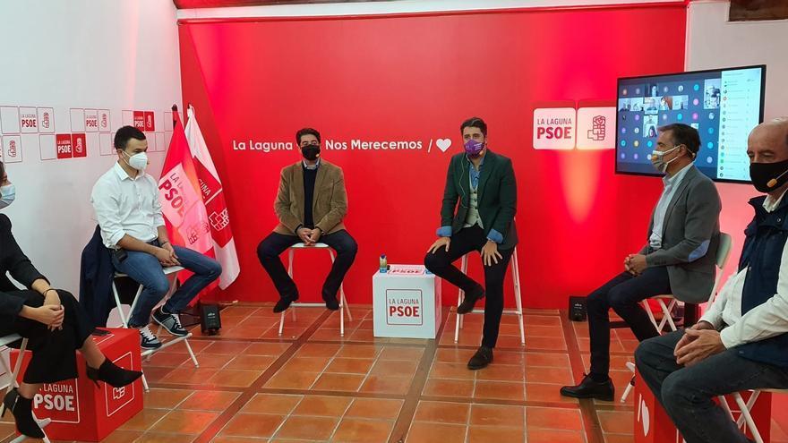 El PSOE anuncia el regreso de Santiago Pérez al partido tras un año de pacto consolidado en La Laguna