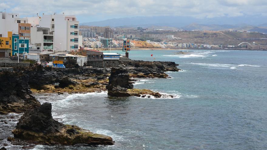 Roques de Morán y Las Gaviotas.