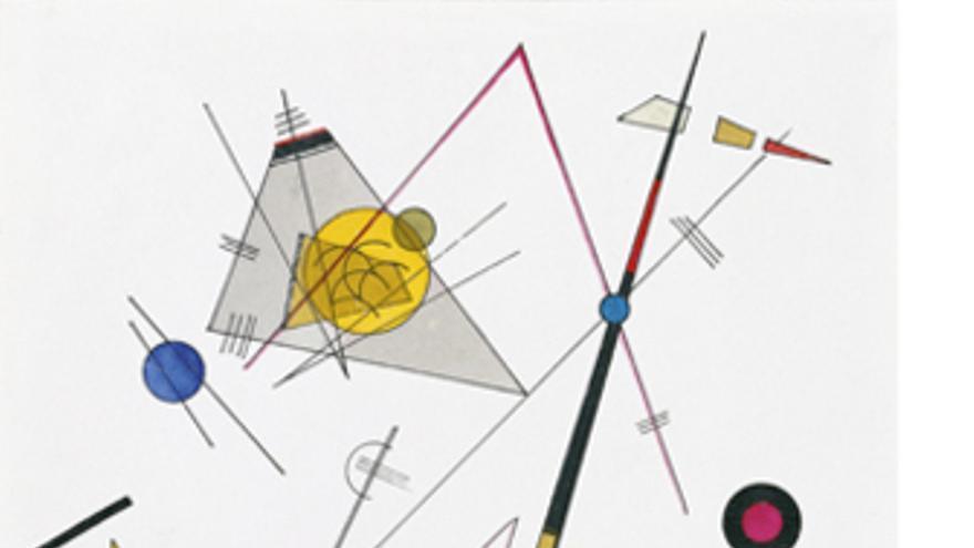 Tensión Suave de Kandinsky (1923)