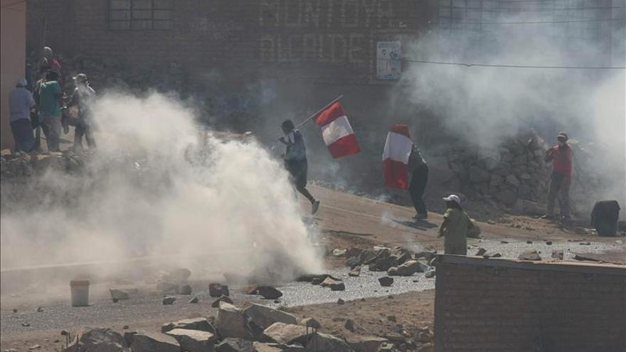 Perú autoriza la intervención de las Fuerzas Armadas en zona de conflicto antiminero