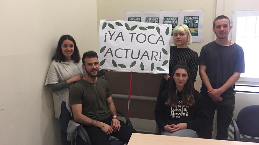 Los portavoces de la plataforma 'Fridays for Future València'