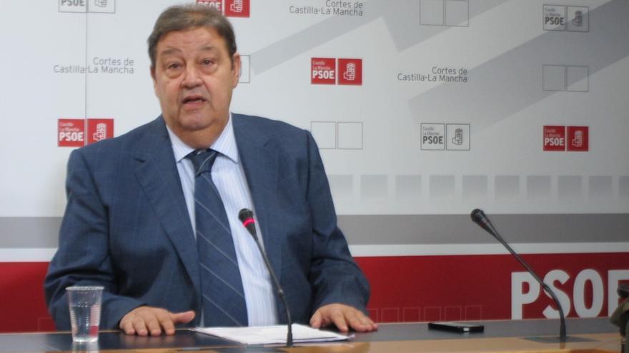 """El secretario de Organización de PSOE C-LM asegura que trabajará """"todo lo posible"""" para que Page """"se quede en la región"""""""
