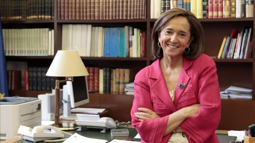 """Ana Santos asegura que """"la Biblioteca Nacional """"pelea"""" por recuperar su antiguo estatus"""""""