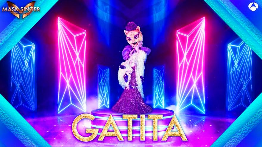 'Mask Singer 2' ya se promociona en Antena 3 presentando a su nueva máscara 'Gatita'