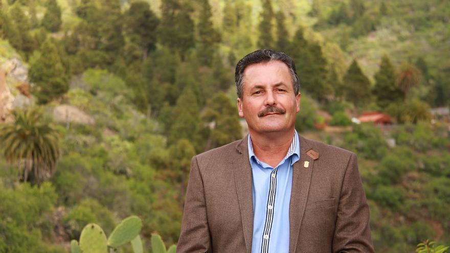 Vicente Rodríguez es alcalde de Puntagorda.