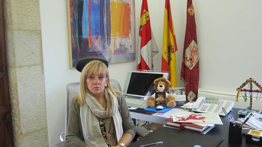 Fotografía de archivo de la presidenta de la Diputación de León, Isabel Carrasco. / Europa Press