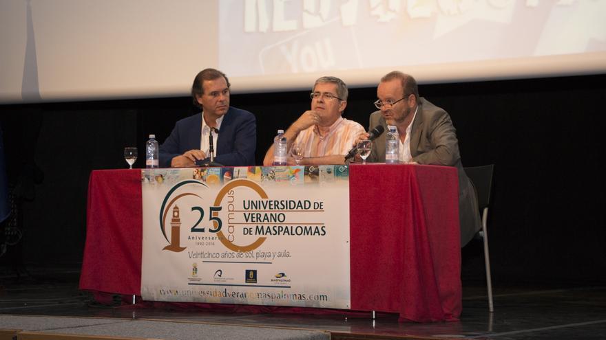 Nicolás Díaz de Lezcano, Marco Aurelio Pérez y Michel Jorge Millares