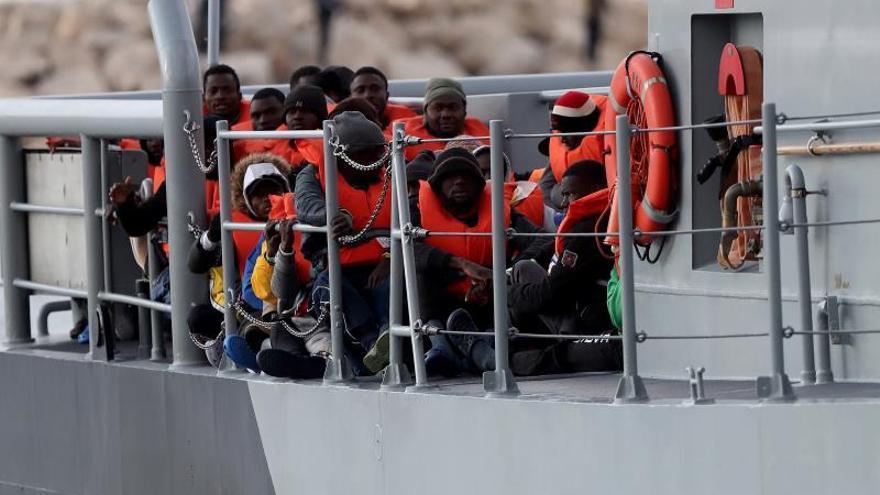 Libia confirma la desaparición de 116 migrantes en el Mediterráneo.