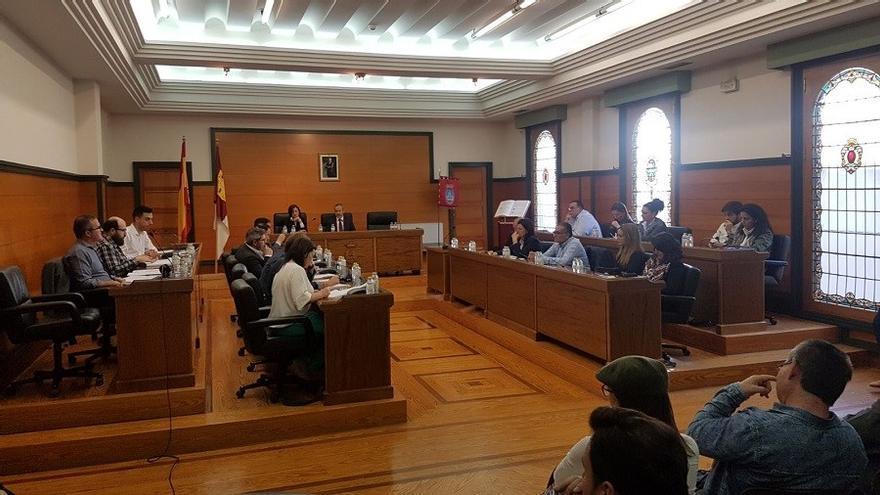 Pleno del Ayuntamiento de Villarrobledo, foto de archivo