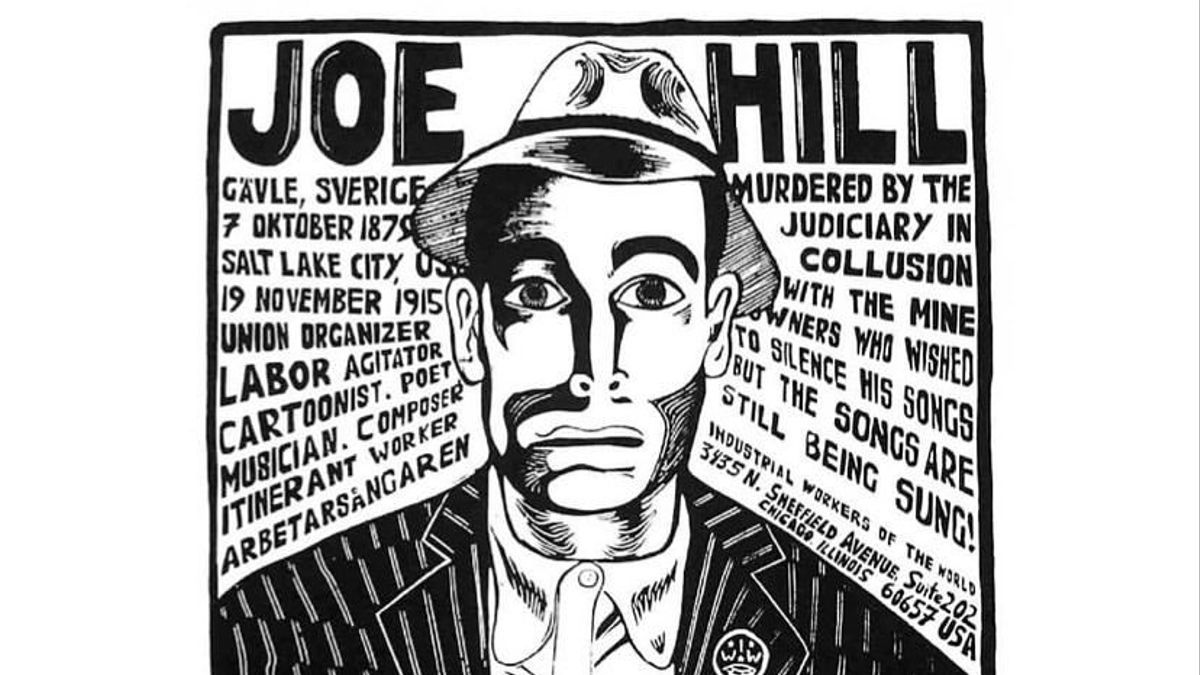 Poster en recuerdo de Joe Hill