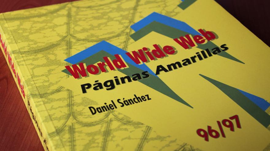Un profesor de la Universidad de Murcia reunió y clasificó las páginas webs de 1995