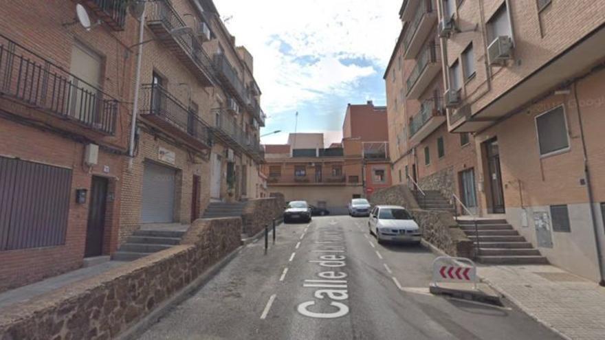 Calle de la Fuente en el barrio de Santa Bárbara / Google