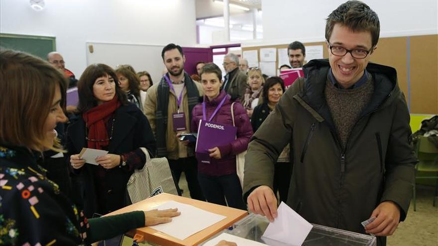 Errejón: son unas elecciones diferentes y hay que llenar las urnas