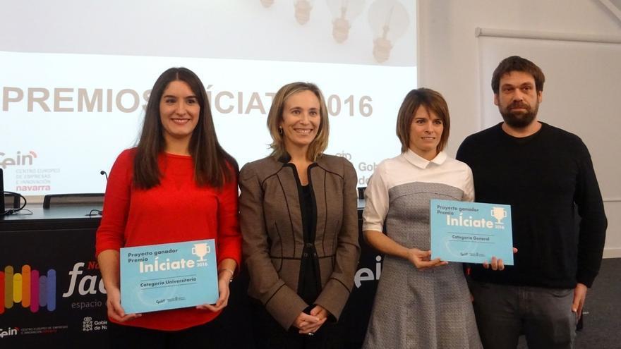 Un proyecto de climatización de granjas avícolas y otro de equipos portátiles sanitarios, premios InÍciate 2016