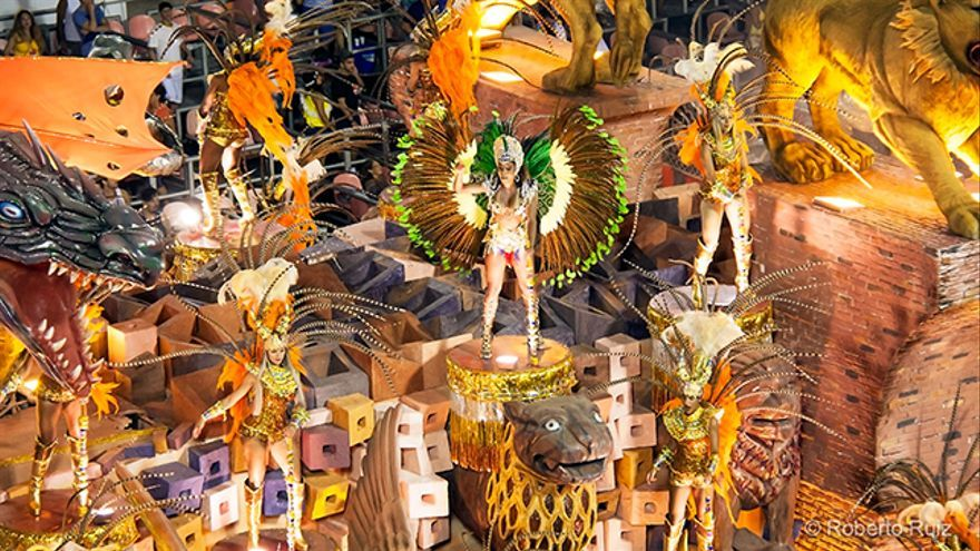 Sambódromo, Carnaval de Río de Janeiro
