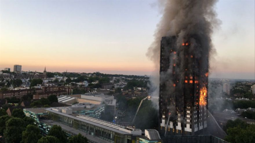 Al menos 30 personas han resultado heridas en el incendio