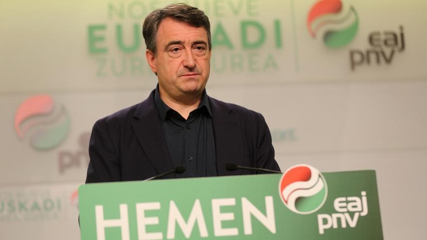 """PNV reprocha que se usara a Euskadi en el debate como """"arma arrojadiza"""" y advierte, de nuevo, de un pacto PSOE-Cs"""