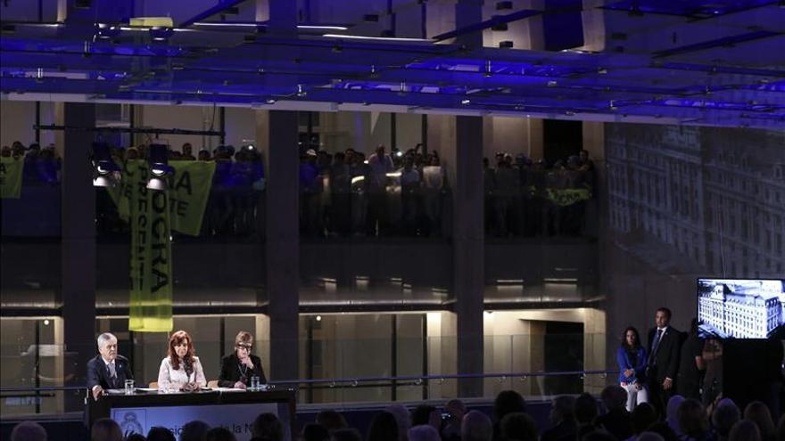 Fernández inaugura el Centro Cultural Kirchner, el mayor de Latinoamérica