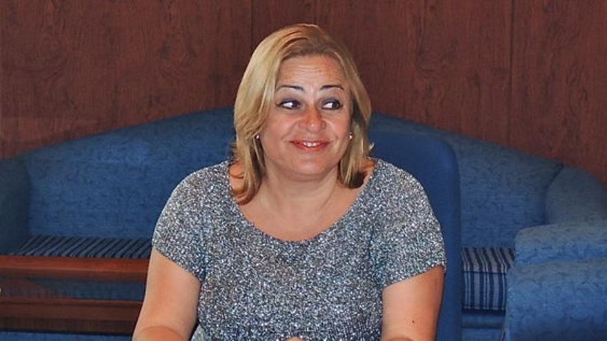 María del Carmen Castellano, alcaldesa de Telde.