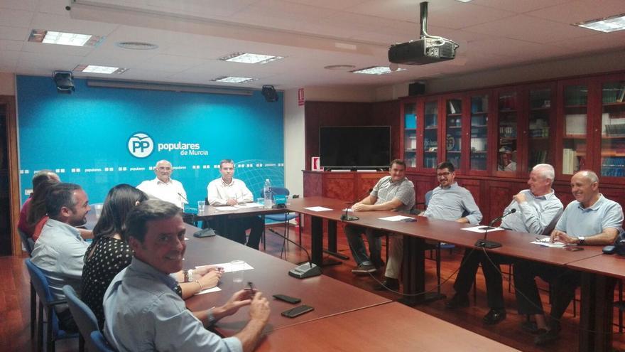 Reunión del comité de derechos y garantías del Partido Popular