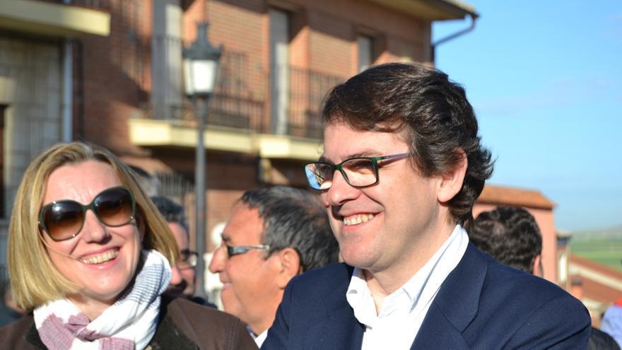 """Mañueco defiende una Comunidad """"con presente y futuro"""" e invita a vivir la fiesta con """"normalidad"""" y """"orgullo"""""""