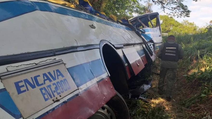 Accidente de guagua en Venezuela