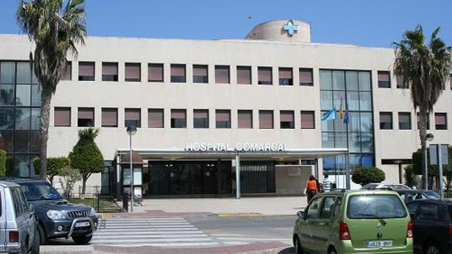El Hospital Comarcal de Melilla.