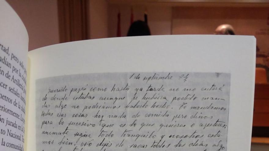 Carta en 'Geografía humana de la represión franquista'