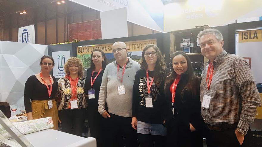 Delegación de empresas palmeras en Madrid.