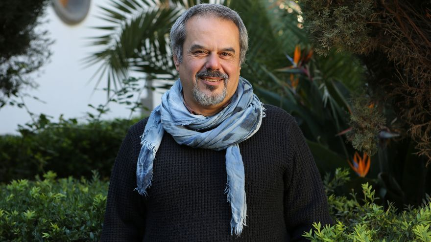 Francisco López, miembro de Anticapitalistas y concejal de Podemos en Teror