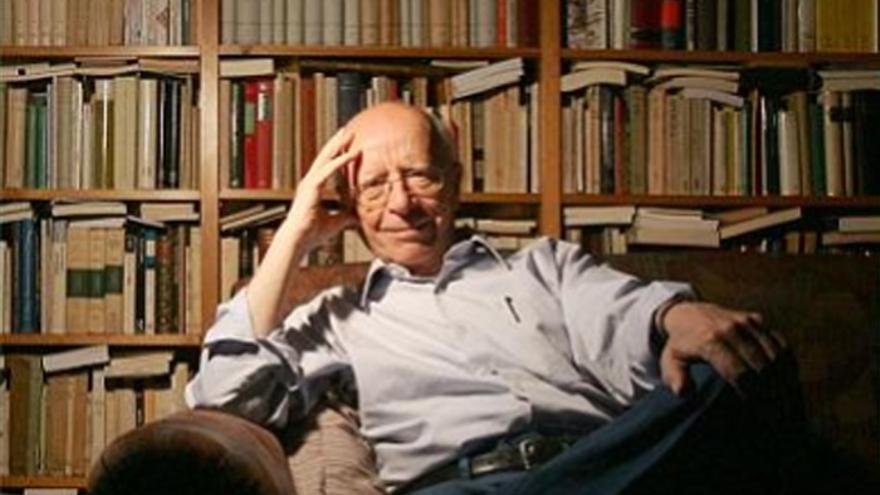 El filósofo Emilio Lledó, galardonado con el Princesa de Asturias de Comunicación y Humanidades 2015