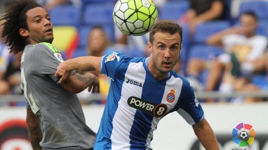 El jugador Paco Montañés.