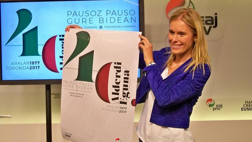 """PNV defiende """"el reconocimiento nacional de Euskadi"""" y una relación bilateral con el Estado de cara al Alderdi Eguna"""