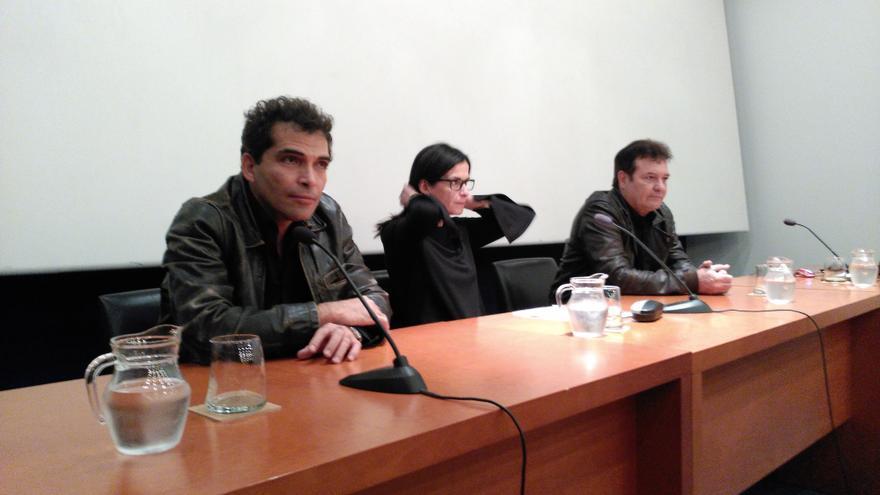 Jorge Perugorría y Vladimir Cruz en el CiBRA 2016