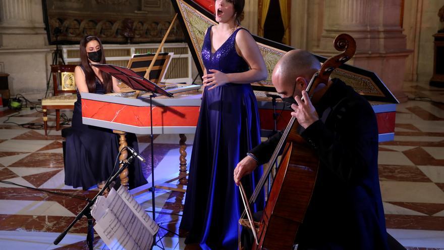 Un Stradivarius de 1700, protagonista del documental de conciertos en Palacio