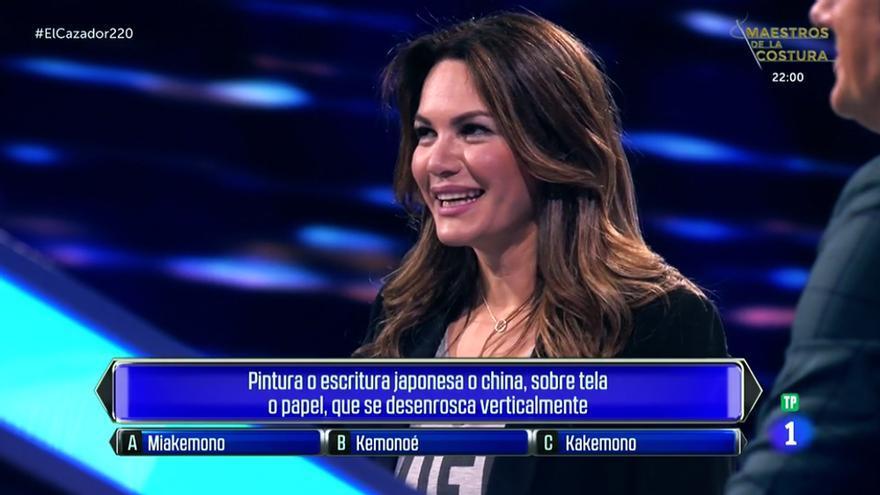 Fabiola Martínez en 'El cazador'