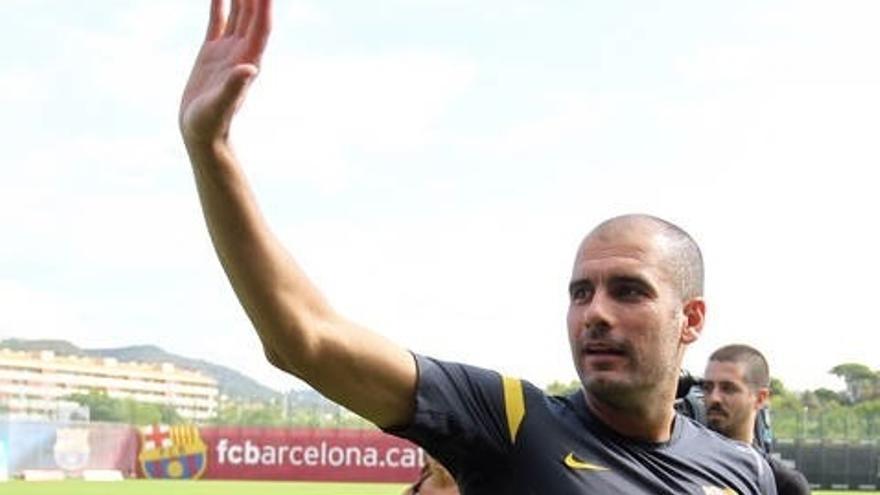 Pep Guardiola en una imagen de archivo (fcbarcelona.es).